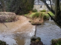 Dirty water in the Cairnsmill Burn