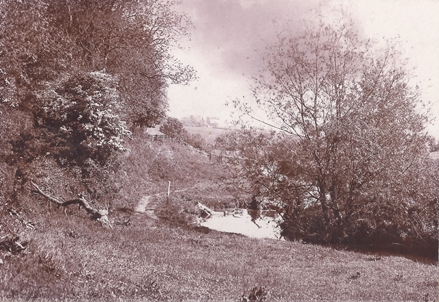 Lade Braes around 1890