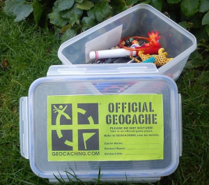 Typical geocache